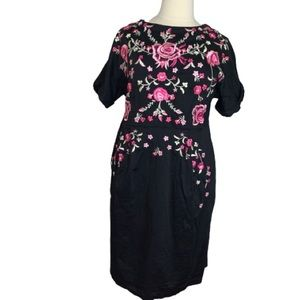 Claire Richards ASOS Embroidered Sheath size 20